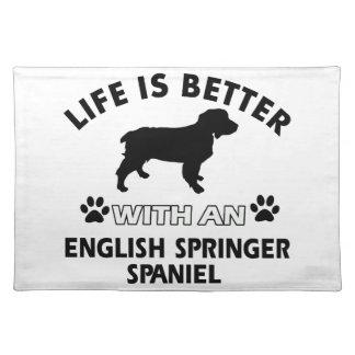 English Springer Spaniel dog breeds Place Mats