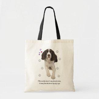 English Springer Spaniel Dog Budget Tote Bag
