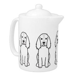 English Springer Spaniel Dog Cartoon