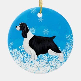 English Springer Spaniel Dog/Puppy Ornament