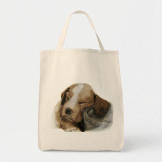 English Springer Spaniel Grocery Tote Bag