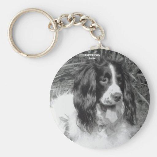 English Springer Spaniel Key Ring Keychain