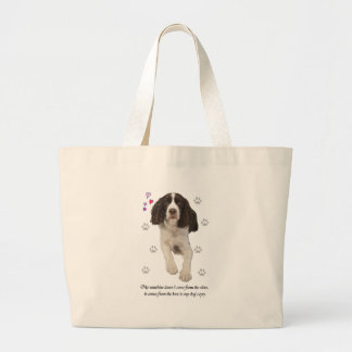 English Springer Spaniel Large Tote Bag