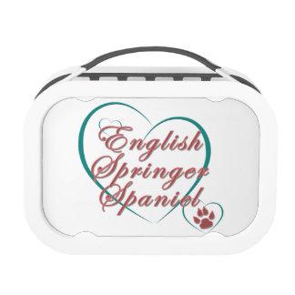 English Springer Spaniel Love Yubo Lunchbox
