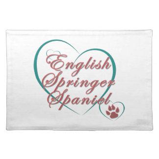 English Springer Spaniel Love Placemat