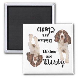 English Springer Spaniel Lovers Dishwasher Magnet