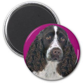 English Springer Spaniel Merchandise 6 Cm Round Magnet