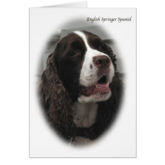 English Springer Spaniel Note Card