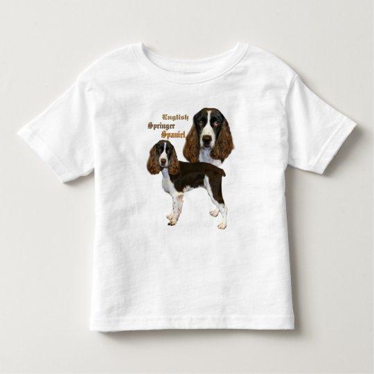 English Springer Spaniel Portrait Toddler T-Shirt