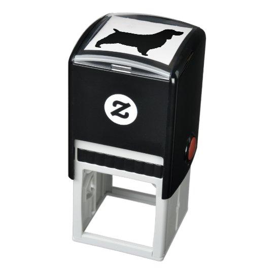 English Springer Spaniel Silhouette Self-inking Stamp