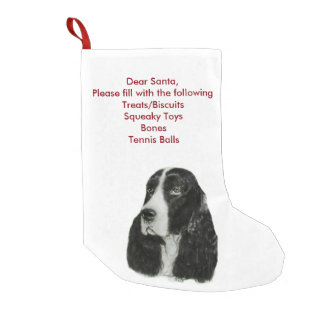 English Springer Spaniel Small Christmas Stocking