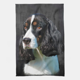English Springer Spaniel Hand Towels