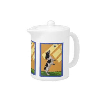English Springer Spaniel Teapot