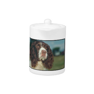 English Springer Spaniel Teapot