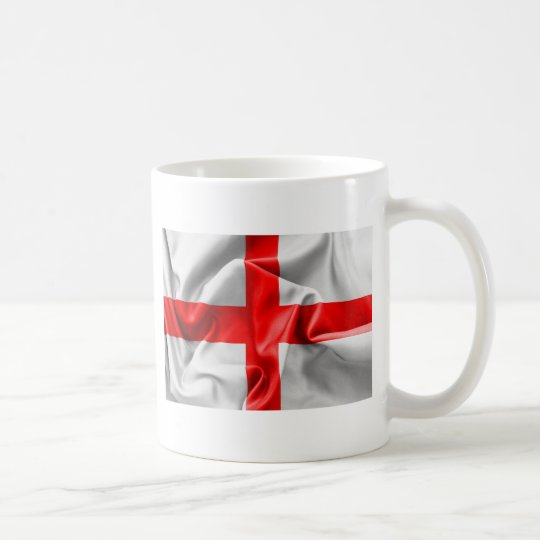English St Georges Cross Flag Coffee Mug