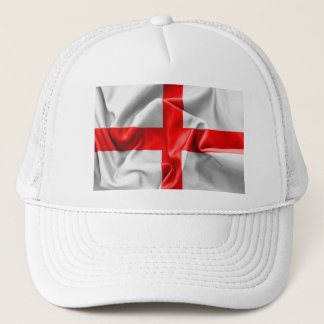 English St Georges Cross Flag Trucker Hat