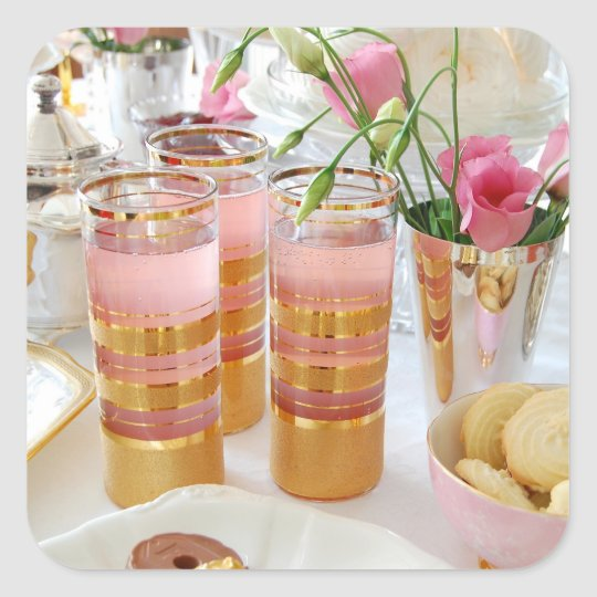 English Tea Pink Lemonade Sticker