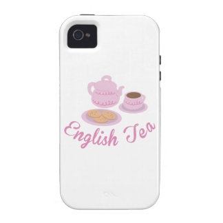 English Tea Time English Tea iPhone 4 Cover
