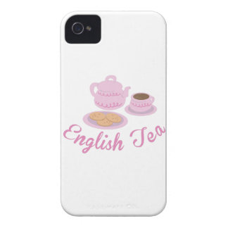 English Tea Time English Tea iPhone 4 Cases
