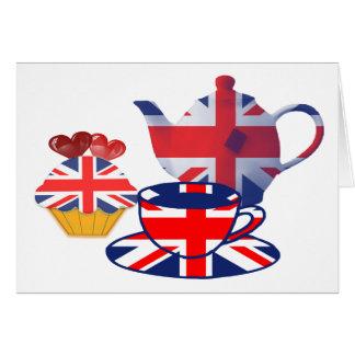 English Tea-time gifts Card