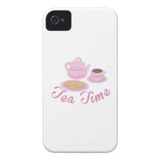 English Tea Time Tea Time iPhone 4 Covers