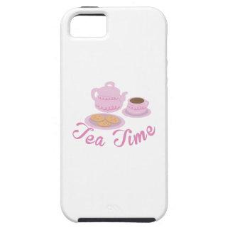 English Tea Time Tea Time iPhone 5 Covers
