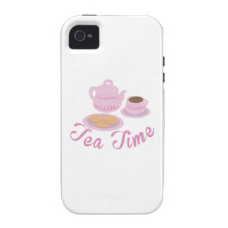 English Tea Time Tea Time iPhone 4 Cover