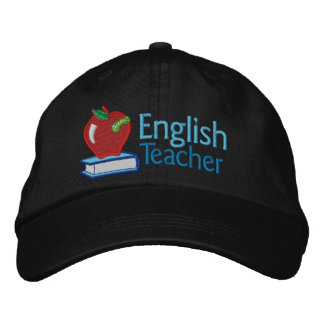 English Teacher embroidered Embroidered Baseball Cap