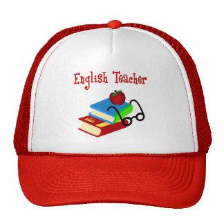 English Teacher Gifts Trucker Hats