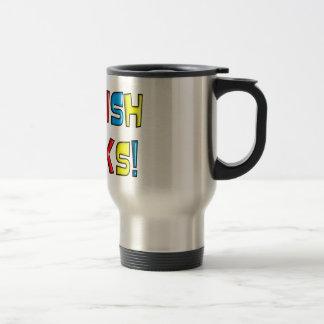 """English Teacher Gifts """"English Rocks!"""" Mug"""