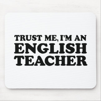 English Teacher Mouse Mat