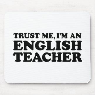 English Teacher Mouse Pad