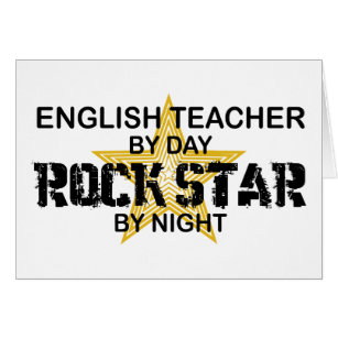English Teacher Rock Star