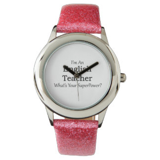 English Teacher Wrist Watches