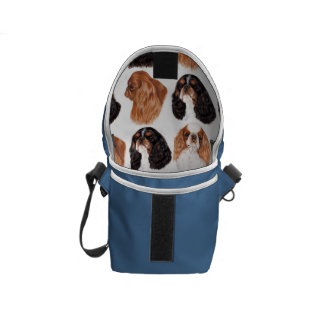 English Toy Spaniel Bag , All four Colours Commuter Bags