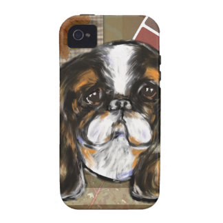 ENGLISH TOY SPANIEL iPhone 4/4S CASES