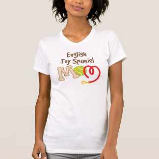 English Toy Spaniel Dog Breed Mom Gift T-Shirt