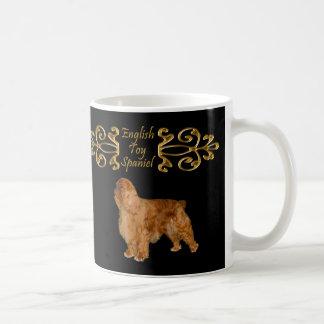 English Toy Spaniel Elegance Basic White Mug