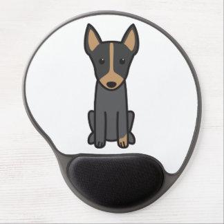 English Toy Terrier Dog Cartoon Gel Mouse Mat