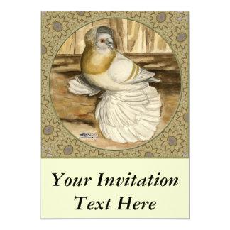 English Trumpeter Gold Frame 13 Cm X 18 Cm Invitation Card