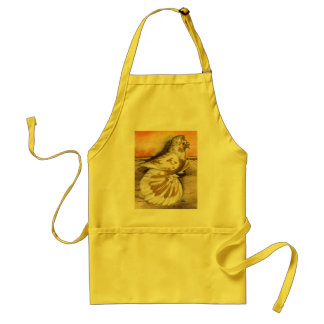 English Trumpeter Yellow Splash Standard Apron