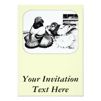 English Trumpeters Custom Invites