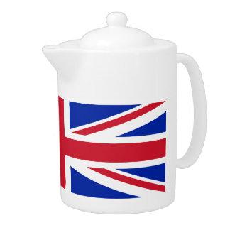 English Union Jack Flag Tea Pot