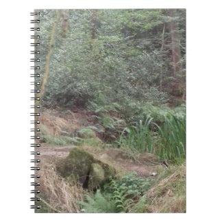 English Woodland Spiral Note Book