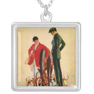 English Woolen Mills Company Silver Plated Necklace