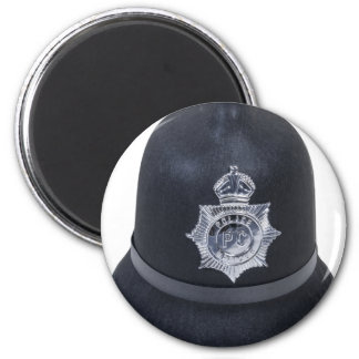 EnglishBobbyHat061612.png 6 Cm Round Magnet