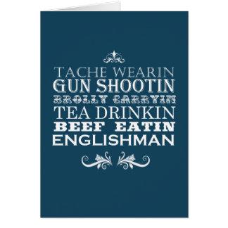 Englishman Birthday Card