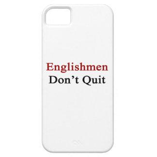 Englishmen Don t Quit iPhone 5/5S Case