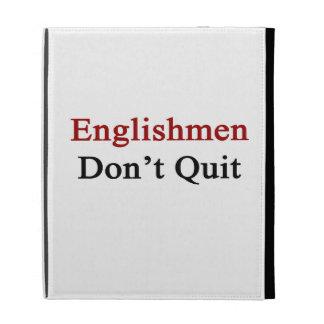 Englishmen Don t Quit iPad Folio Cover