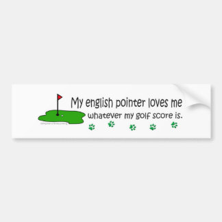 EnglishPointer Bumper Sticker